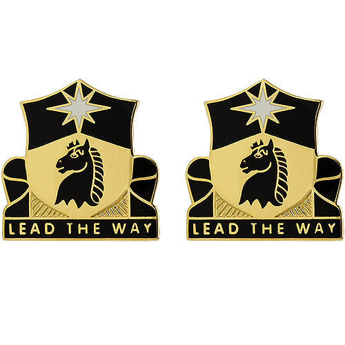 151st Cavalry Regiment Unit Crest (Lead the Way)