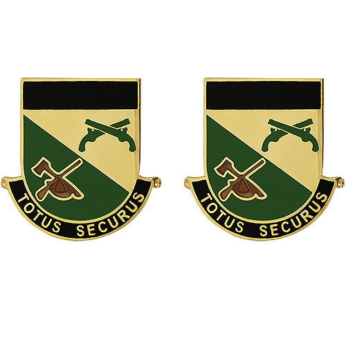 151st Military Police Battalion Unit Crest (Totus Securus)
