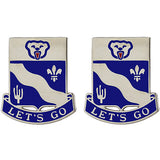 153rd Infantry Regiment Unit Crest (Let's Go)
