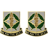 153rd Finance Battalion Unit Crest (We Pay the Best)