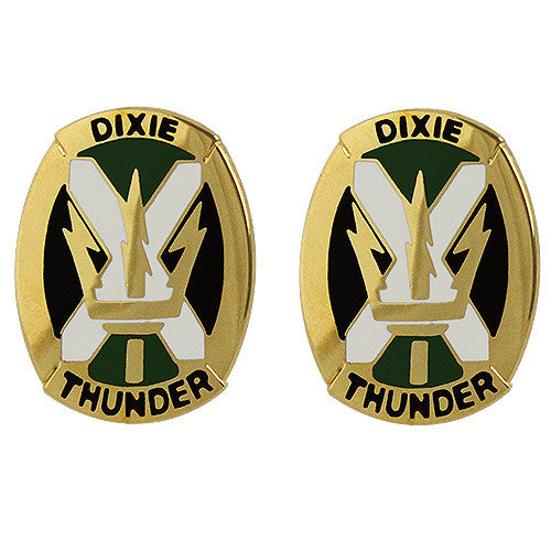 155th Armored Brigade Combat Team Unit Crest (Dixie Thunder)