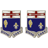 155th Infantry Regiment Unit Crest (Stand Fast)