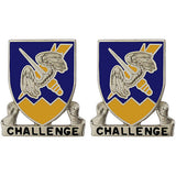 158th Aviation Regiment Unit Crest (Challenge)