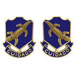 158th Infantry Regiment Unit Crest (Cuidado)