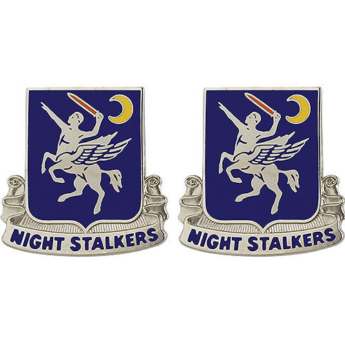 160th Aviation Regiment Unit Crest (Night Stalkers)