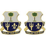 163rd Infantry Regiment Unit Crest (Men, Do Your Duty)
