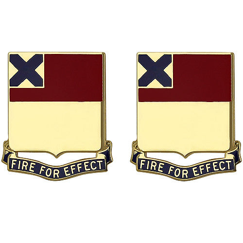 166th Regiment Unit Crest (Fire For Effect)