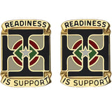 171st Support Group Unit Crest (Readiness is Support)