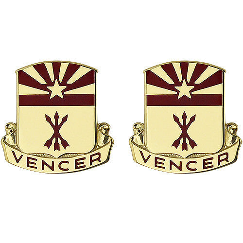 180th Field Artillery Regiment Unit Crest (Vencer)