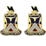 181st Support Battalion Unit Crest (We Support the Mission)