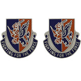 185th Aviation Regiment Unit Crest (Fighting for the Force)
