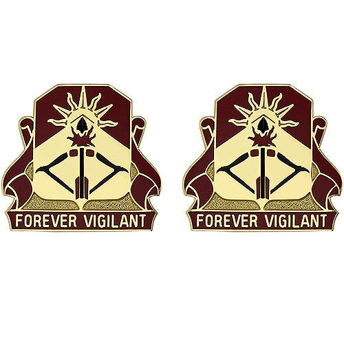 188th ADA (Air Defense Artillery) Regiment Unit Crest (Forever Vigilant)