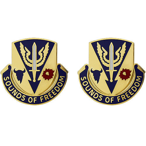 189th Aviation Battalion Unit Crest (Sounds of Freedom)