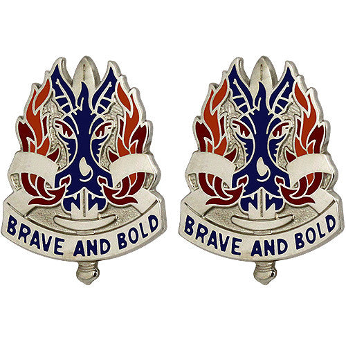 198th Infantry Brigade Unit Crest (Brave and Bold)