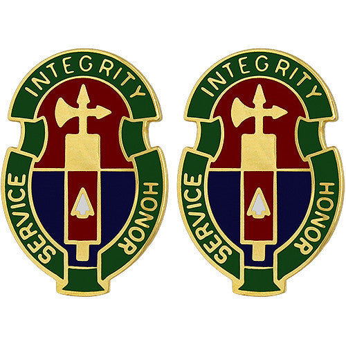 198th Military Police Battalion Unit Crest (Service Integrity Honor)