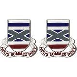 199th Infantry Regiment Unit Crest (Nous Sommes Pret)