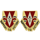 199th Support Battalion Unit Crest (Support to Victory)