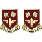 203rd ADA (Air Defense Artillery) Battalion Unit Crest (Duty Well Done)