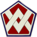 55th Sustainment Brigade Combat Service Identification Badge