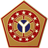 108th Sustainment Brigade Combat Service Identification Badge