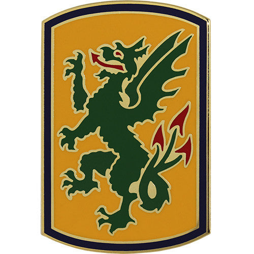 415th Chemical Brigade Combat Service Identification Badge