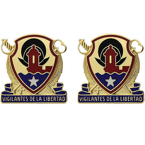 210th Support Group Unit Crest (Vigilantes De La Libertad)
