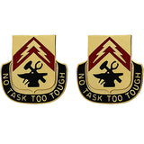 215th Support Battalion Unit Crest (No Task Too Tough)