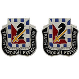 221st Military Intelligence Battalion Unit Crest (Truth Through Exploitation)