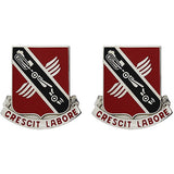 223rd Engineer Battalion Unit Crest (Crescit Labore)