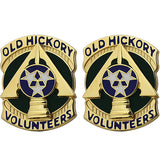 230th Sustainment Brigade Unit Crest (Old Hickory Volunteers)