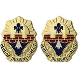 240th Engineer Group Unit Crest (Develop Design Direct)