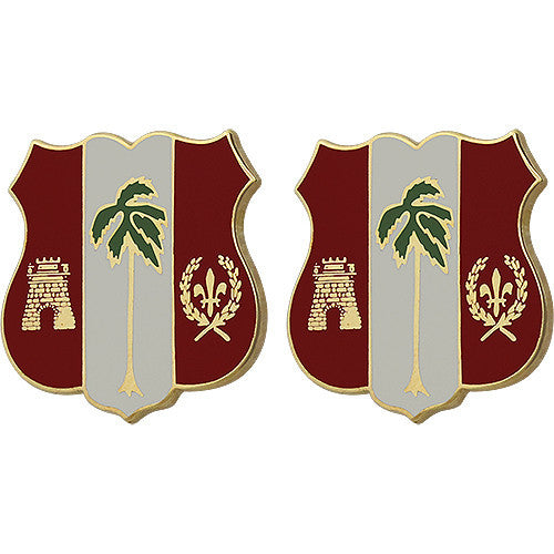 250th ADA (Air Defense Artillery) Regiment Unit Crest (No Motto)