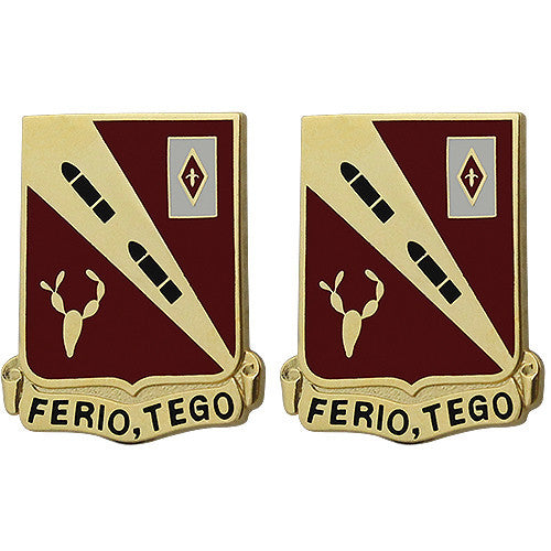 260th Regiment Unit Crest (Ferio, Tego)