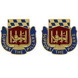 282nd Support Battalion Unit Crest (Support the Pillars)