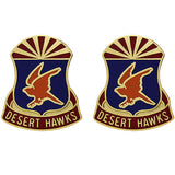 285th Aviation Regiment Unit Crest (Desert Hawks)