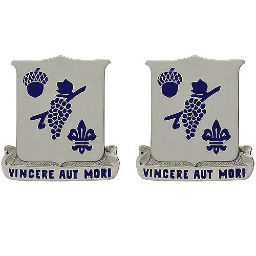 289th Regiment Unit Crest (Vincere Aut Mori)