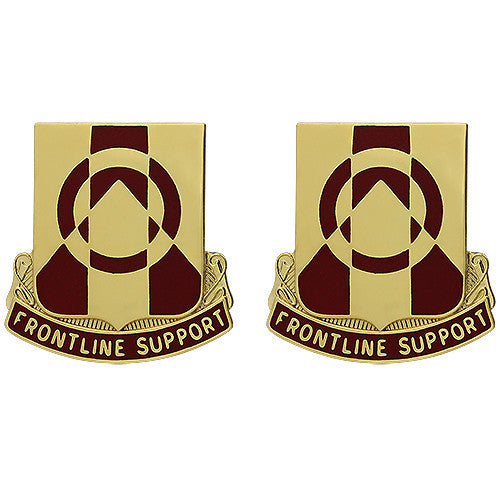 296th Support Battalion Unit Crest (Frontline Support)