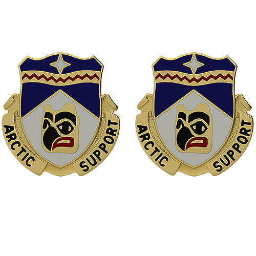 297th Support Battalion Unit Crest (Arctic Support)
