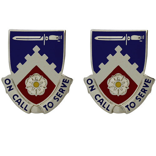 299th Support Battalion Unit Crest (On Call to Serve)