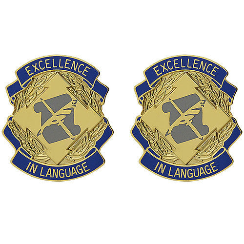 300th Military Intelligence Battalion Unit Crest (Excellence in Language)