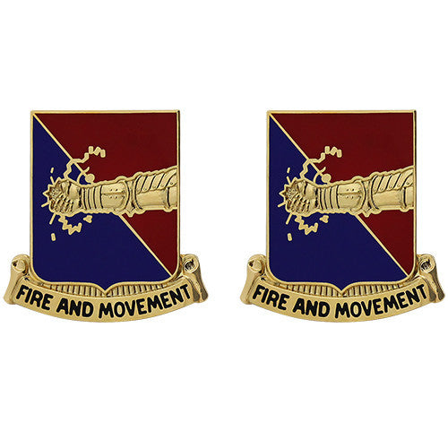 303rd Armor Regiment Unit Crest (Fire and Movement)