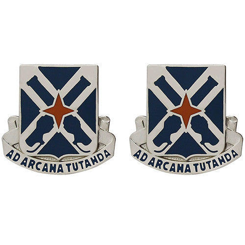 305th Military Intelligence Battalion Unit Crest (Ad Arcana Tutanda)