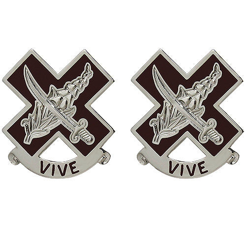 312th Field Hospital Unit Crest (Vive)