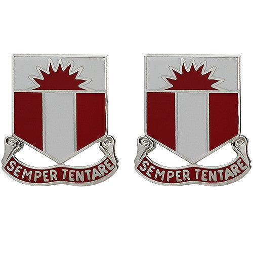 321st Engineer Battalion Unit Crest (Semper Tentare)