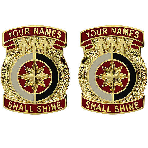 321st Sustainment Brigade Unit Crest (Your Names Shall Shine)