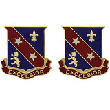 322nd Regiment Unit Crest (Excelsior)