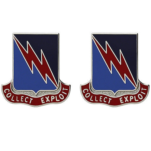 323rd Military Intelligence Battalion Unit Crest (Collect Exploit)