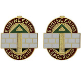 372nd Engineer Brigade Unit Crest (Engineering Leadership)