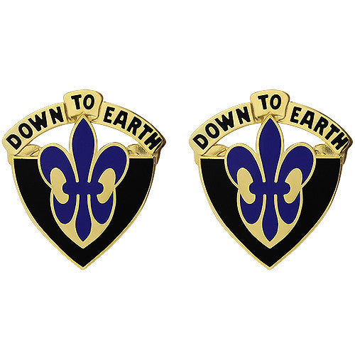 389th Engineer Battalion Unit Crest (Down to Earth)