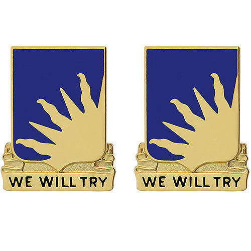 389th Regiment Unit Crest (We Will Try)